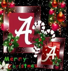 Merry Alabama Crimson Tide Christmas