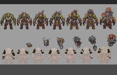 ArtStation - Orc runt-herda concept, Rayph Beisner
