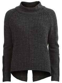 Vila – Knitted long sleeved blouse