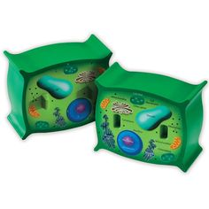 Learning Resources Cross-Section Plant Cell Model Plant Anatomy Science Classroom Accessories 2 Foam Pieces Ages 7 Plant Cell Parts, Plant Cell Model, Parts Of A Plant, Learning Games, Learning Resources, Scientific Skills, Life Cell, Cross Section, Science Kits