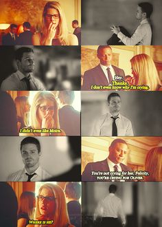 Arrow - Oliver, Diggle & Felicity #2.21 #Season2