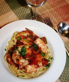 Springtime Pasta with Shrimp | Recipe