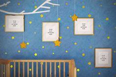 Kids room frame, Golden 8x10 frame mockup, Set frames, Stock product mockup, Nursery mockup, Styled mockup, Matted frame, Empty frame