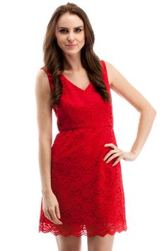 Marilyn Lace Dress » Wish I had this for Valentines Day!