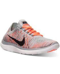 new product 535df dfa20 Nike Women s Free Flyknit 4.0 Running Sneakers from Finish Line Nike Free  Flyknit, Special Occasion