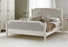 Normandy Rattan Bed Frame - £599. Classic and french inspired, this bed is sure to provide a feeling of opulence and luxury in any bedroom.