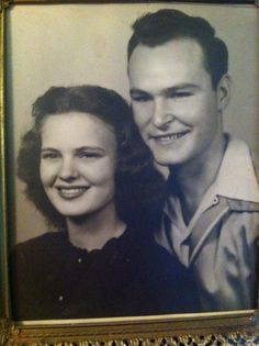 My mom and dad who I love do much. They love each other so much.