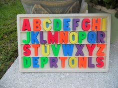 One of the best toys for kids -- put them on the fridge and expand their vocabulary!