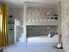 ikea lit mezzanine pas cher pour la chambre d'enfants
