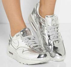 sale retailer 6b116 0a479 Popular Sneakers 2014   Tiffany Blue Nike Free Runs 3 Womens Silver  Trainers, Metallic Trainers