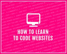 """How do I learn to code?"" I've been asked this multiple times over the past few years of blogging and designing and have answered it in bits and pieces in various blog posts. But the question keeps..."