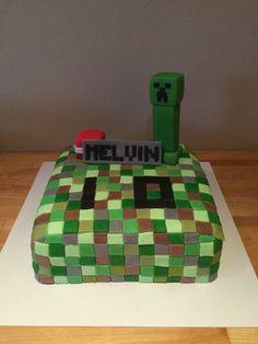 Mine craft... De blokjes zijn 1,2 x 1,2 cm