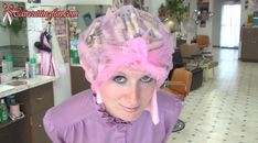 Photo from Kat's Tip Top and Other Metal Curlers Roller Set and Comb Out video.
