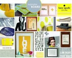 inspiration boards.