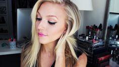 natural highlight and contour Contour Makeup, Contouring And Highlighting, Beauty Makeup, Hair Makeup, Hair Beauty, Beauty Secrets, Beauty Hacks, Face Routine, Natural Highlights