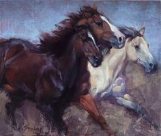 Horse artwork, horse drawings, animal paintings, horse paintings, western a Buffalo Painting, Horse Artwork, Animal Paintings, Horse Paintings, Pastel Paintings, Cowboy Art, Horse Drawings, Equine Art, Large Animals