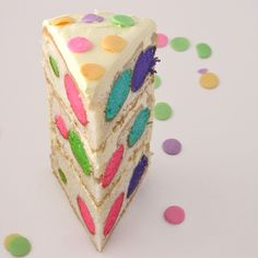 Polka Dot Cake!!! « eASYbAKED