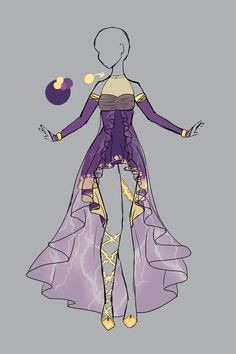 .::Outfit Adopt 3 (CLOSED)::. by Scarlett-Knight.deviantart.com on @deviantART