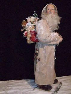 Old World Santa. $500.00, via Etsy by Jprond.