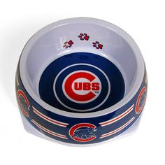 #Cubs dog bowl for your furry companion.