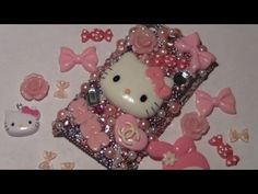 Kawaii DIY Bling Phone Case + Review for SophieandToffee.com