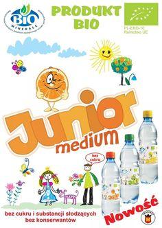NOWOŚĆ !! BIOMINERALE-Junior * Woda mineralna o smaku cytrynowym- jabłkowym - pomarańczowym *Bez konserwantów * Bez cukru i substancji słodzących z certyfikatem BIO  Zapraszamy do współpracy !!! Producent: MARINO sp.z.o.o * mail: info@marino.pl  Tel.: +48 655402192