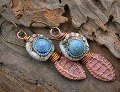 Blue Planet Earrings | Flickr - Photo Sharing!