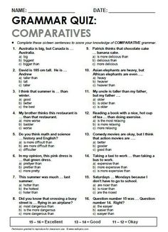 .COMPARATIVES