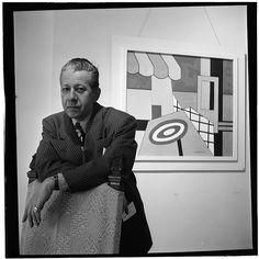 William Gottlieb - Portrait of George Wettling, New York, N.Y. (1946-48)