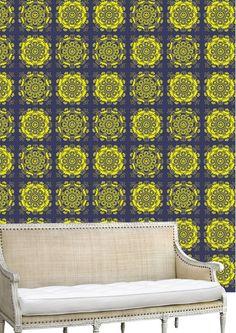 Crystal Bloom - Blue Lemonade Lemonade, Fabrics, Bloom, Texture, Blanket, Crystals, Wallpaper, Home, Tejidos