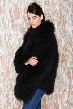 Lynx fur coat with snakeskin belt | Furs & Fur Coats | Pinterest ...