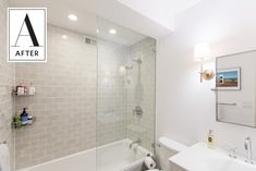 Before & After: Savvy Solutions for a Seriously Small Bathroom — Sweeten