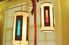 Danish Modern Pole Lamp, Mid Century Modern Tension Floor Ceiling ...
