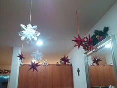 #Copos #Estrellas #Navidad #Decoración #Christmas #decoration #Snow