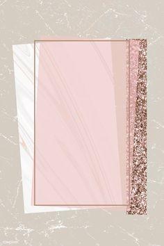 premium vector of Shimmering rectangle frame design vector about marble, background, beige, blank and bronze 894098 Framed Wallpaper, Pastel Wallpaper, Wallpaper Backgrounds, Iphone Wallpaper, Lock Screen Backgrounds, Sparkle Wallpaper, Fond Design, Web Design, Blog Design