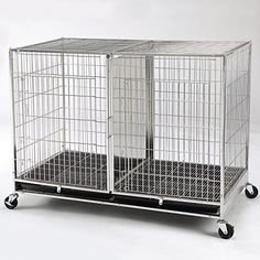 WANT: ProSelect Stainless Steel X Tall Modular Dog Cage With Tray
