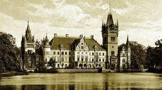 Zrujnowany pałac w Kopicach pod opolskim Grodkowem