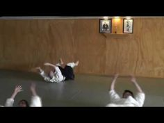 A smattering of Aikido ukemi strength-building exercises - YouTube