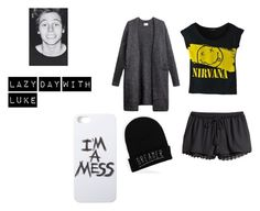 Lazy Day with Luke by analis-briseno on Polyvore featuring polyvore fashion style H&M LAUREN MOSHI clothing