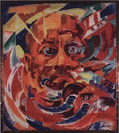 ROUGENA ZATKOVA Marinetti. Luce solare, 1920