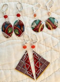 Shop | TTE Designs Artisan Jewelry, Handcrafted Jewelry, Handmade, Paper Earrings, Drop Earrings, Patron Tequila, Tin Art, Tin Containers, My Etsy Shop