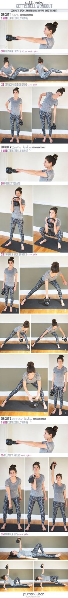 6 Kettlebell FAT BLASTING Workout Circuits. What if you can minimize the amount of time that you spend on exercise and maximize your results through that, wh #kettlebellexercise