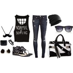"""Normal Is Boring ;)"" by filipina-luv on Polyvore"