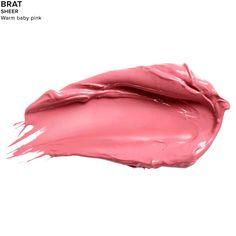Vice Lipstick in color BRAT (SHEER)