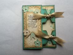 Double tag topper punch card by theresemarie - Cards and Paper Crafts at Splitcoaststampers