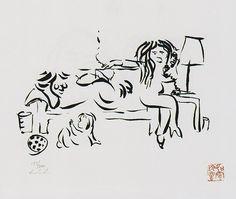+ John Lennon, ''on the telephone with family'', 1976