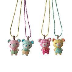 Ltd. Pop Cutie BFF Color Teddy Necklaces | POP CUTIE accessories