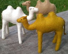 Natural toys wool felt animals role play Waldorf eco by Felthorses Toys For Girls, Gifts For Girls, Natural Toys, Waldorf Toys, Felt Christmas, Christmas Ornaments, Felt Animals, Felt Crafts, Cute Gifts