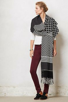 Scaline Wrap Cardigan #anthropologie  angles of the north  cute  with  boyfriend jeans too:)