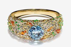 Tiffany & Co. The Art of the Sea 2016; Aquamarine Bracelet
